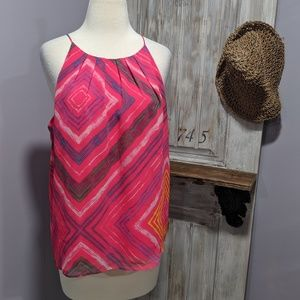 Violet + Claire pink thin strap tank